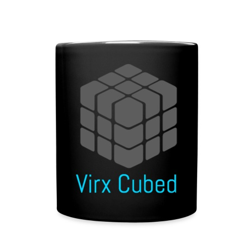 Black Virx Cubed mug - Full Color Mug