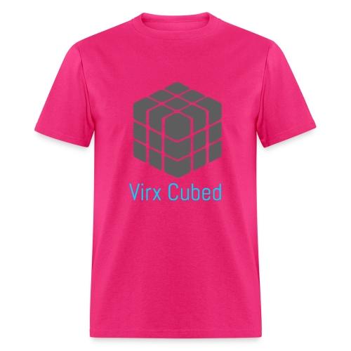 Pink Virx Cubed shirt - Men's T-Shirt