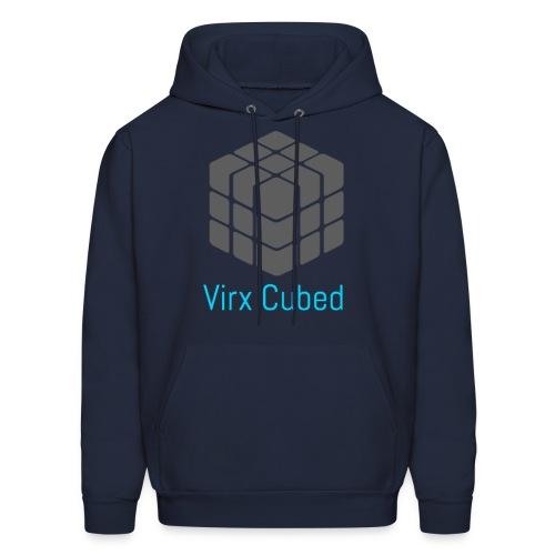 Dark blue Virx Cubed sweatshirt - Men's Hoodie