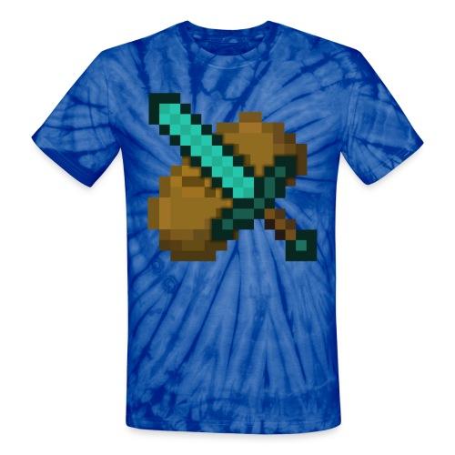 GamerRising Logo Unisex Tie dye Tee - Unisex Tie Dye T-Shirt