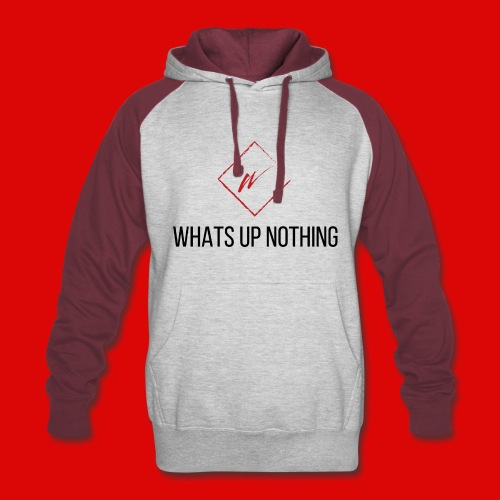 WHATS UP SWEATSHIRT 2 - Colorblock Hoodie