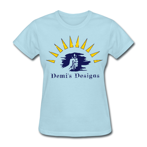 Demi's Designs (Navy Blue) - Women's T-Shirt