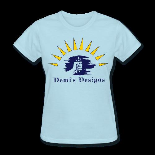 Demi's Designs (Navy Blue) - Women's T-Shirt