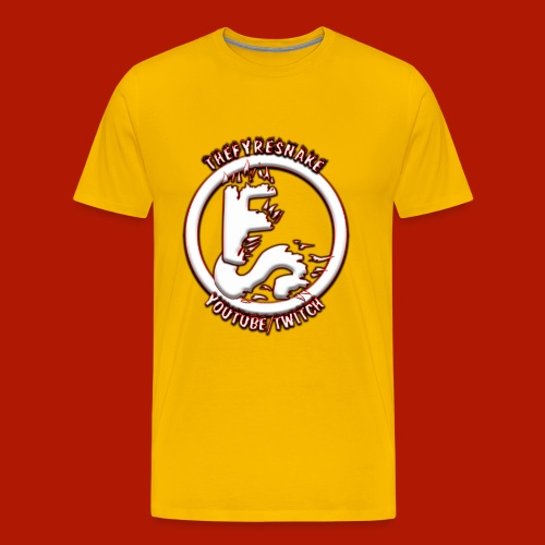 TheFyreSnake Streaming/Recording Uniform - Men's Premium T-Shirt