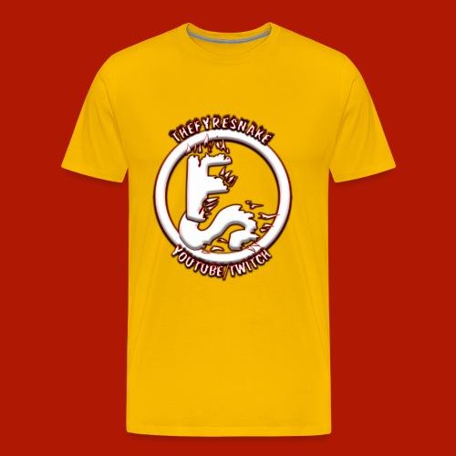 TheFyreSnake Streaming/Recording Uniform - Men's Premium T-Shirt