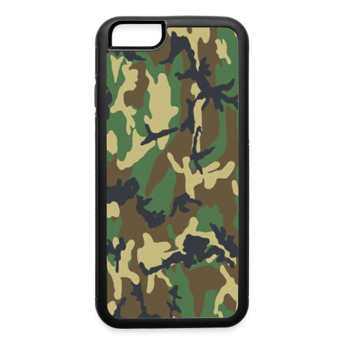 Jungle Camouflage - iPhone 6/6s Rubber Case