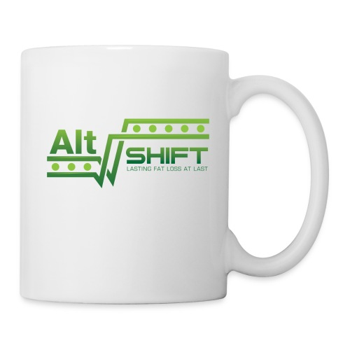 Left Handed Mug (White) - Coffee/Tea Mug