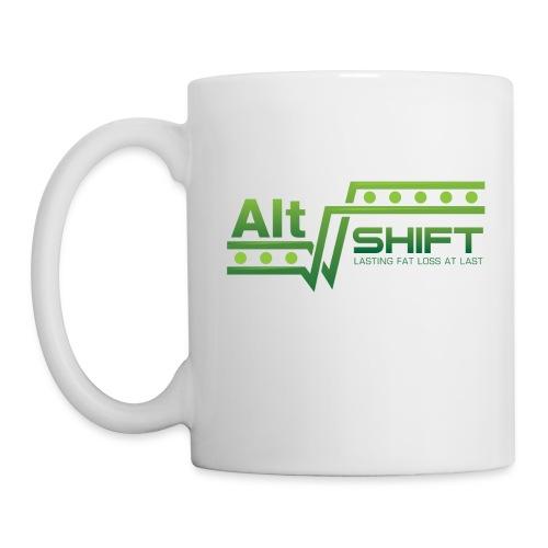 Right Handed Mug (White) - Coffee/Tea Mug