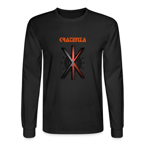 Kratenza - Long Sleeve Shirt (Black) - Men's Long Sleeve T-Shirt