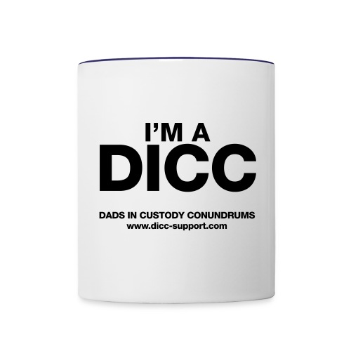 I'm a DICC Mug - Contrast Coffee Mug
