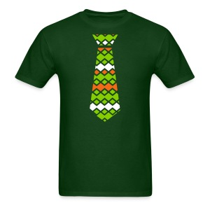 patterns art tie Men's T-Shirt - Men's T-Shirt