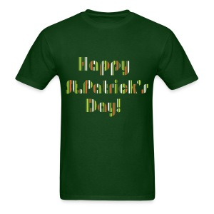 Happy St.Patrick's day typo Men's T-Shirt - Men's T-Shirt