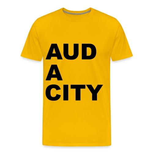 Audacity - Men's Premium T-Shirt