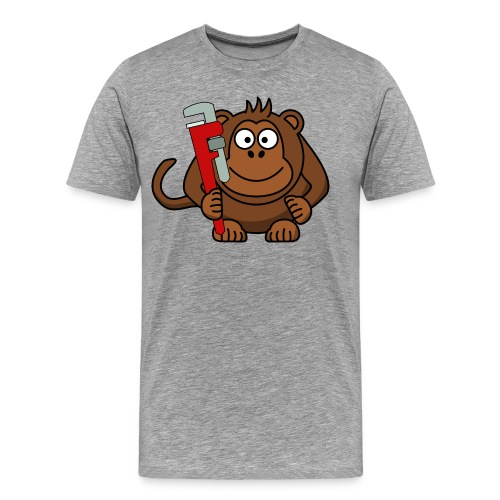 Monkey Wrench Shirt - Men's Premium T-Shirt