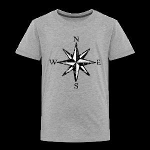 Compass Rose Vintage Bicolor Toddler T-Shirt - Toddler Premium T-Shirt