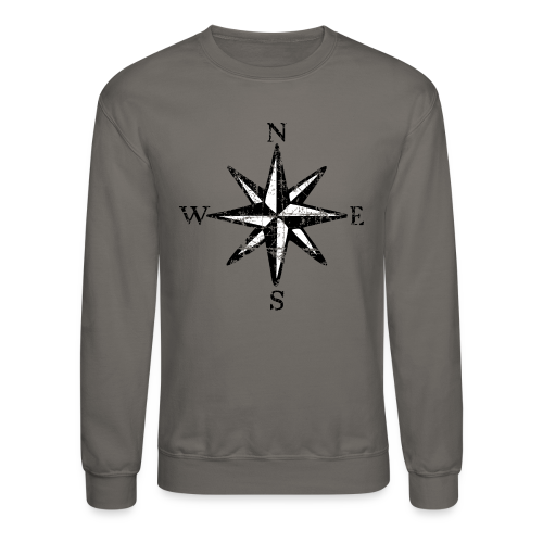 Compass Rose NESW Vintage two colors