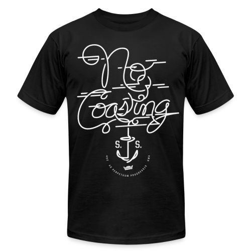 No Coasting - Men's Fine Jersey T-Shirt