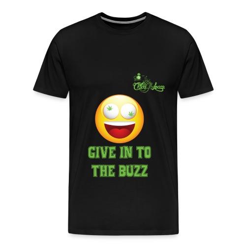 Give in to the Buzz - Men's Premium T-Shirt - Men's Premium T-Shirt