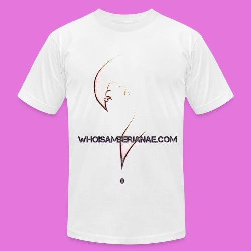 Men's Whoisamberjanae Logo Tee - Men's Fine Jersey T-Shirt