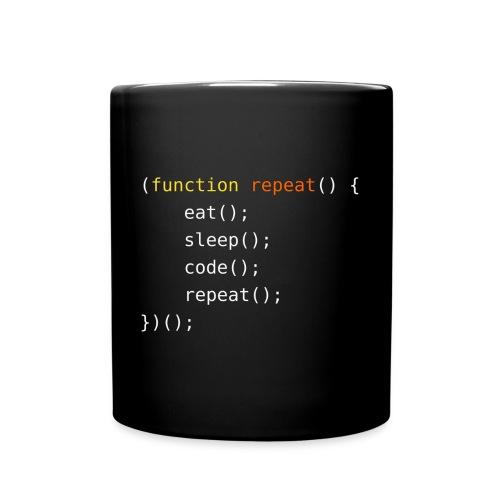 Eat, Sleep, Code, Repeat - Full Color Mug
