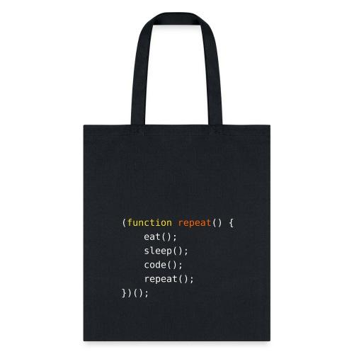 Eat, Sleep, Code, Repeat - Tote Bag