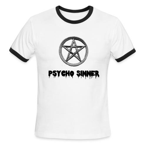 Psycho Sinner Shirt - Men's Ringer T-Shirt