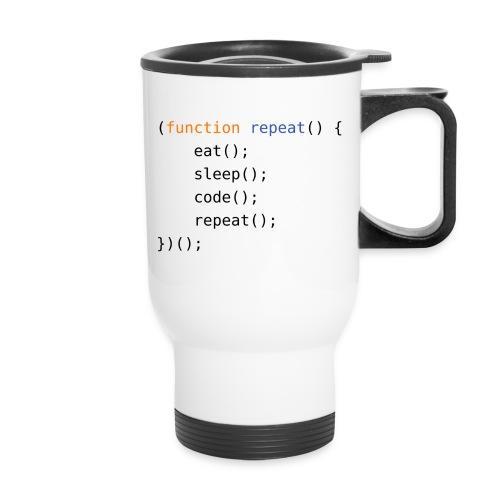 Eat, Sleep, Code, Repeat - Travel Mug