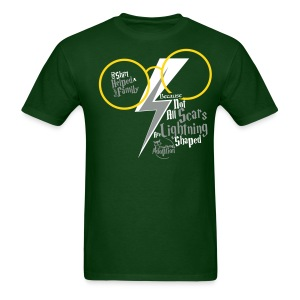 Because Not All Scars... Green - Men's T-Shirt