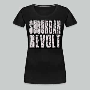 Suburban Revolt woman's t-shirt - Women's Premium T-Shirt