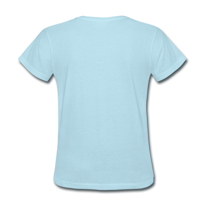 Ladies Standard T- Smiling (Front)