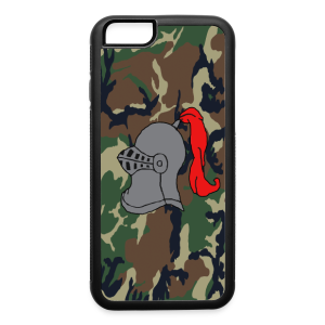 Knights Camo iPhone 6 Logo Case - iPhone 6/6s Rubber Case