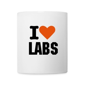 I Love labs hoodie - Coffee/Tea Mug