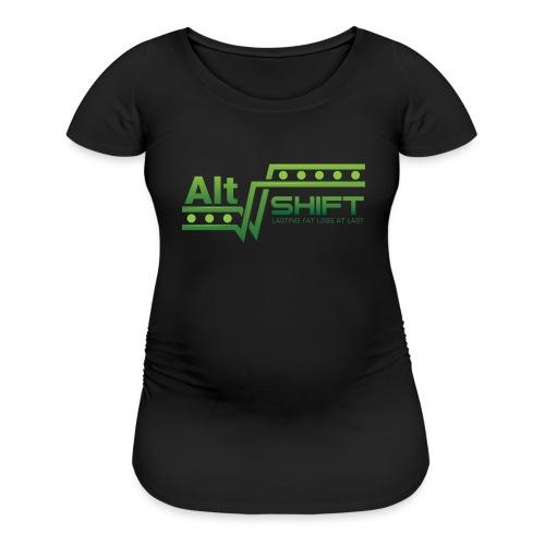Women's Maternity T-Shirt (Two Colors) - Women's Maternity T-Shirt