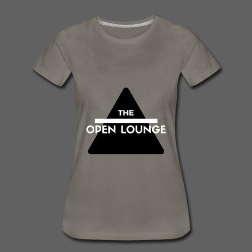THE OPEN LOUNGE(Women's) - Women's Premium T-Shirt