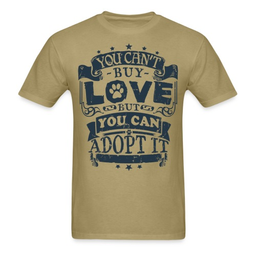 FSR Men's T-Shirt - 'Can't Buy Love' (double sided) - Men's T-Shirt
