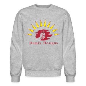 Demi's Designs (Red) - Crewneck Sweatshirt
