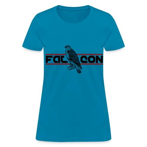 Falcon by Claudia-Moda - Women's T-Shirt