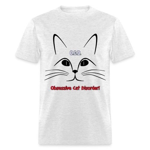 O.C.D. Obsessive Cat Disorder Unisex T-Shirt - Men's T-Shirt