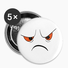 Angry Face Buttons