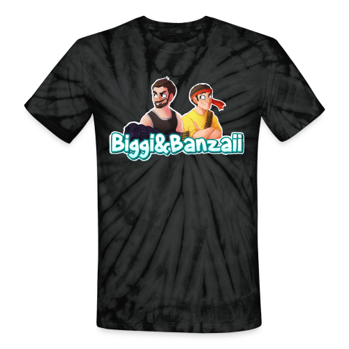 B&B Logo Tie Dye T-Shirt - Unisex Tie Dye T-Shirt