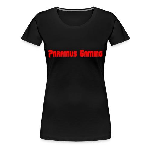 Paramus Gaming (Womens) - Women's Premium T-Shirt