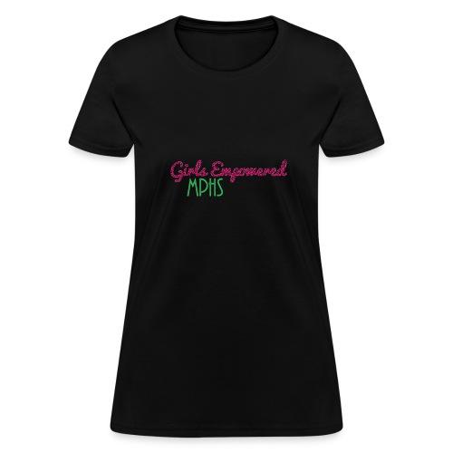 Girls Empowered T-Shirt - Women's T-Shirt