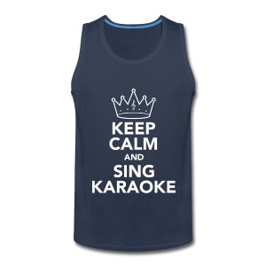 Keep Calm Mens Vest - Men's Premium Tank