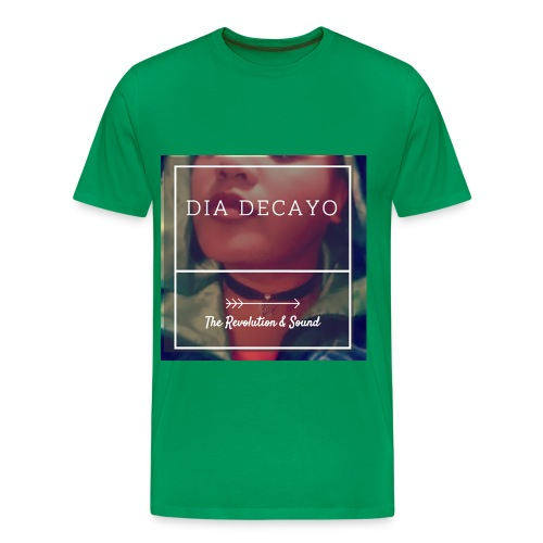 Dia Decayo The Revolution And Sound T-Shirt - Men's Premium T-Shirt
