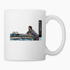 Checking the Waves Mugs & Drinkware