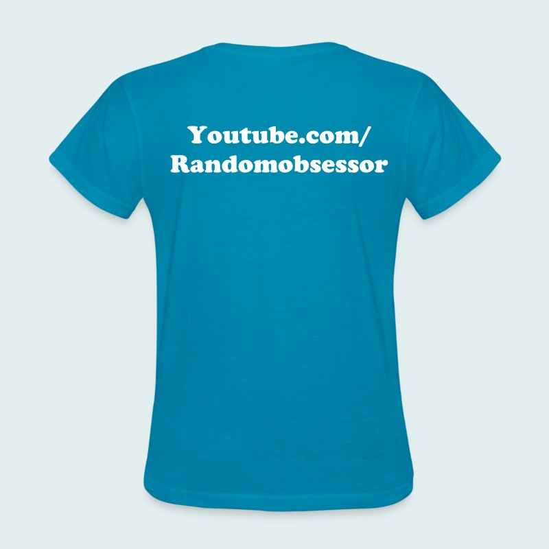 Women's Bright Blue Dee Shirt! - Women's T-Shirt