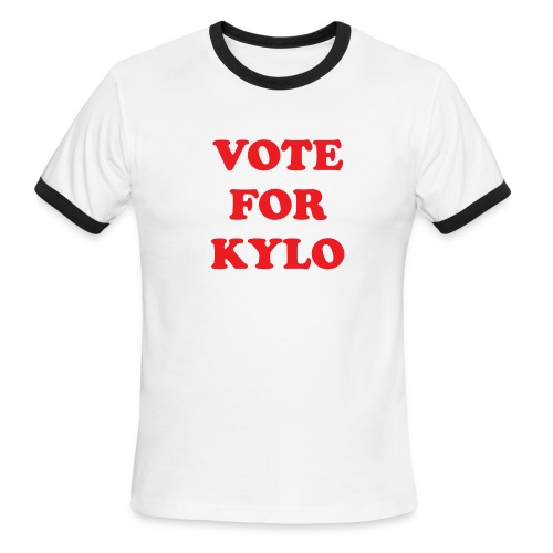Vote for Kylo - Men's Ringer T-Shirt