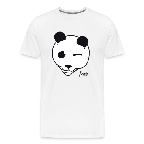 Pandas White T-Shirt - Men's Premium T-Shirt