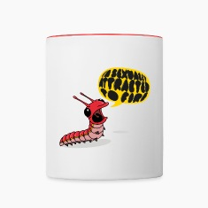 Screamapillar - Sexually Attracted to Fire Mugs & Drinkware