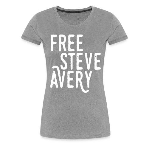 Free Steve Avery - Women's Premium T-Shirt
